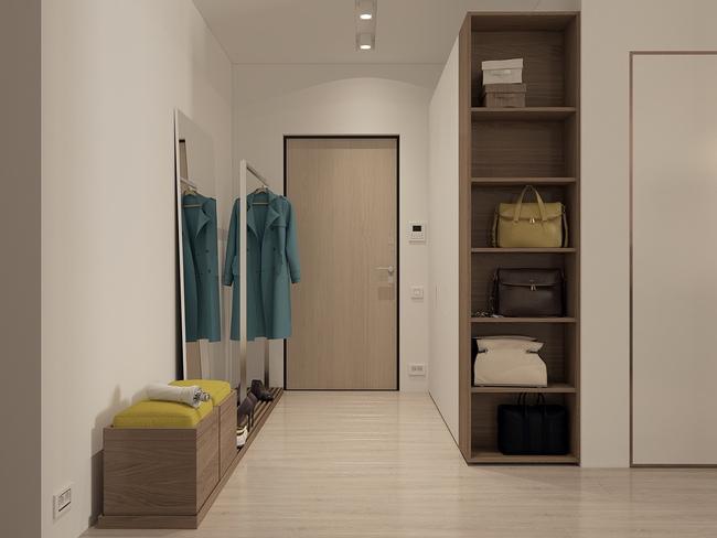 3 căn hộ nhỏ gọn với thiết kế mở vừa đẹp vừa hợp lý đến từng centimet - Ảnh 17.