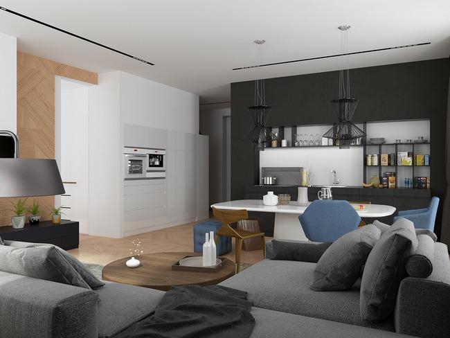 3 căn hộ nhỏ gọn với thiết kế mở vừa đẹp vừa hợp lý đến từng centimet - Ảnh 18.