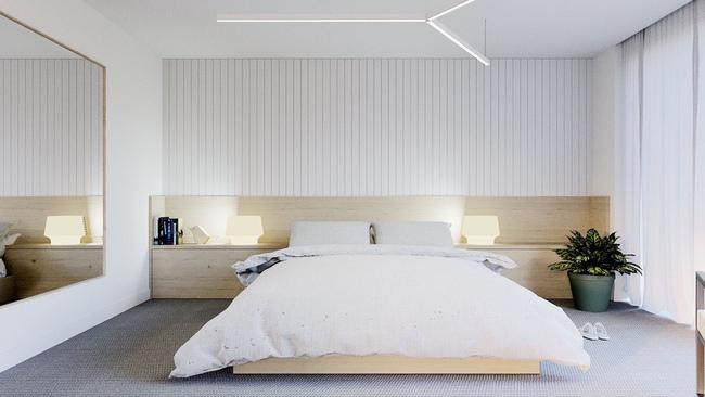 17 thiết kế phòng ngủ với gam màu trắng khiến bạn không thể không yêu - Ảnh 3.