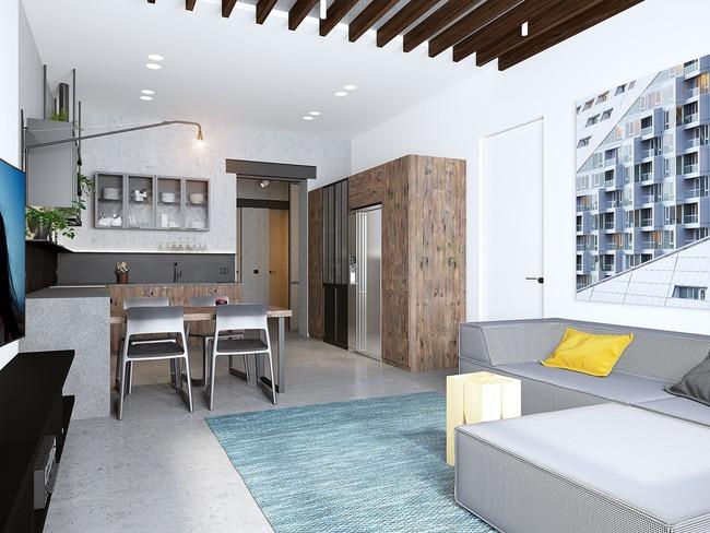 3 căn hộ nhỏ gọn với thiết kế mở vừa đẹp vừa hợp lý đến từng centimet - Ảnh 3.