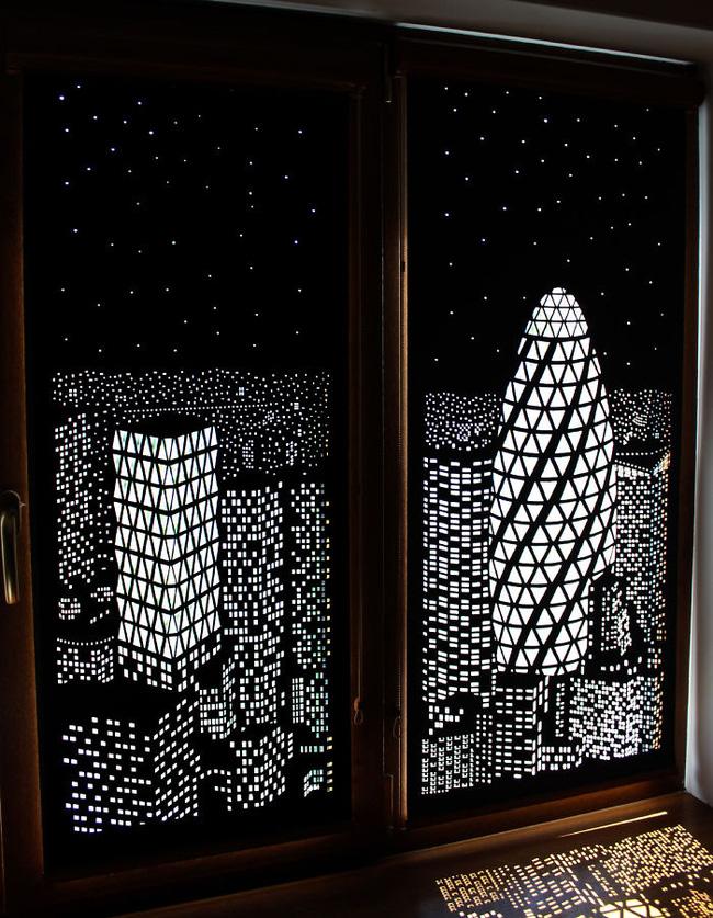 Rèm cửa đục lỗ - món phụ kiện cho bạn cảm giác như sống ở penthouse   - Ảnh 5.