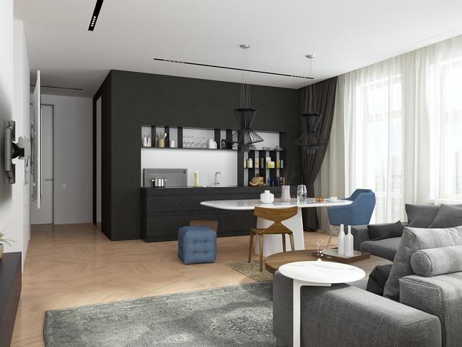 3 căn hộ nhỏ gọn với thiết kế mở vừa đẹp vừa hợp lý đến từng centimet - Ảnh 21.