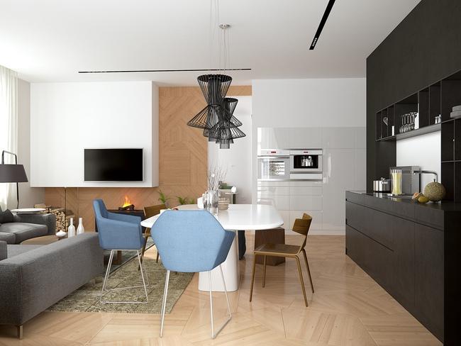 3 căn hộ nhỏ gọn với thiết kế mở vừa đẹp vừa hợp lý đến từng centimet - Ảnh 22.
