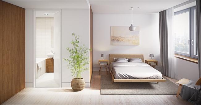 17 thiết kế phòng ngủ với gam màu trắng khiến bạn không thể không yêu - Ảnh 4.