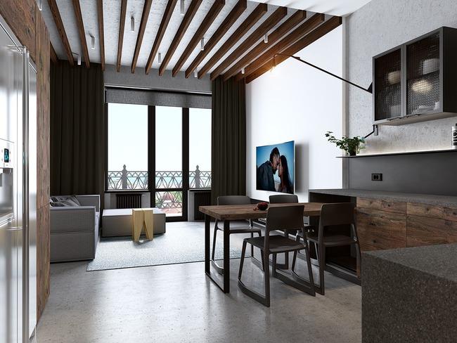 3 căn hộ nhỏ gọn với thiết kế mở vừa đẹp vừa hợp lý đến từng centimet - Ảnh 4.