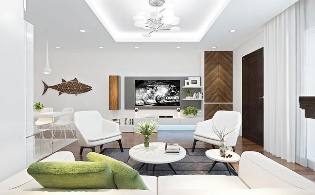 Tư vấn thiết kế phòng khách mang phong cách hiện đại với tổng chi phí chưa đến 30 triệu đồng - Ảnh 4.