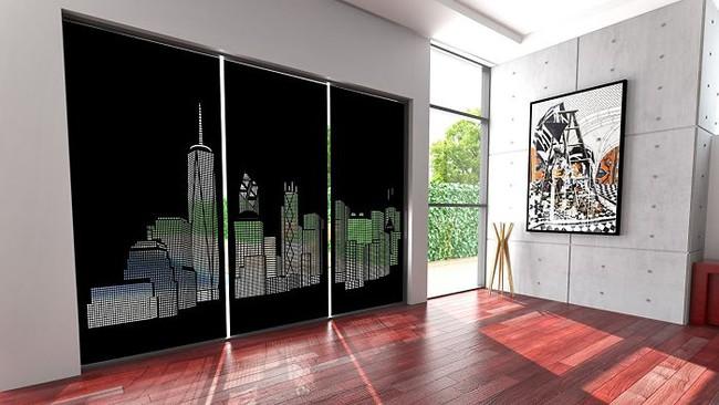 Rèm cửa đục lỗ - món phụ kiện cho bạn cảm giác như sống ở penthouse   - Ảnh 7.