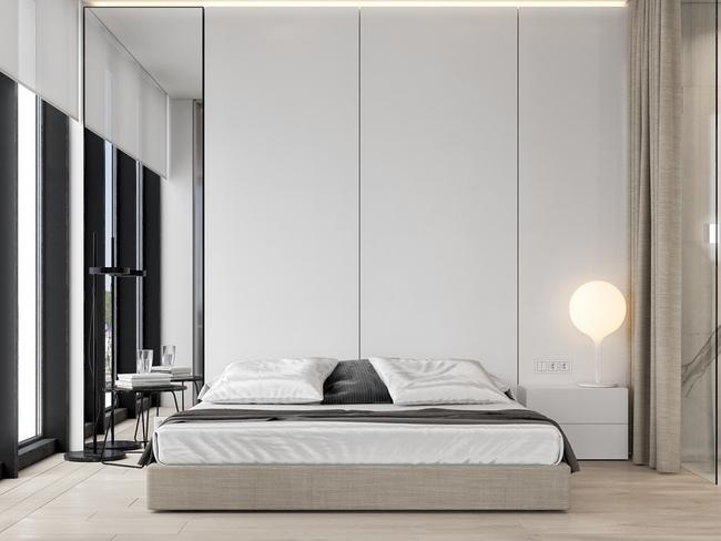 17 thiết kế phòng ngủ với gam màu trắng khiến bạn không thể không yêu - Ảnh 5.