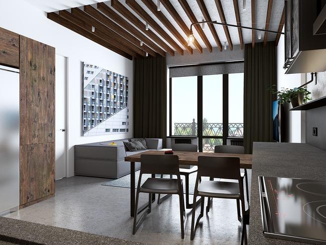 3 căn hộ nhỏ gọn với thiết kế mở vừa đẹp vừa hợp lý đến từng centimet - Ảnh 5.