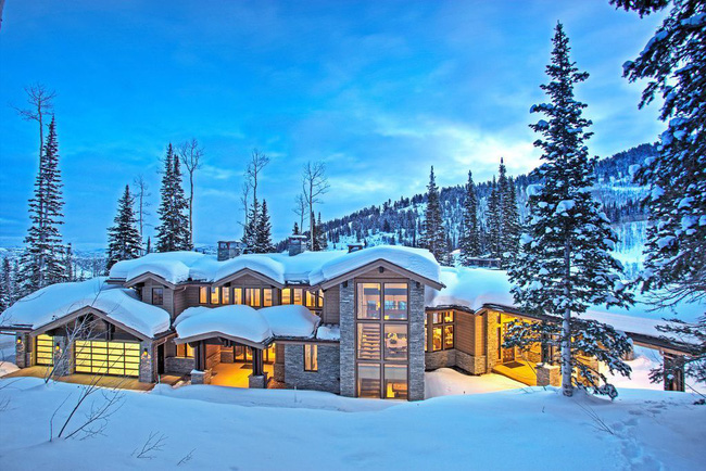 9 ngôi nhà có tuyết bao phủ đẹp như mùa đông ở xứ sở thần tiên - Ảnh 5.