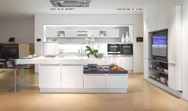 15 căn bếp hiện đại với sắc trắng tinh tế và vô cùng bắt mắt - Ảnh 5.