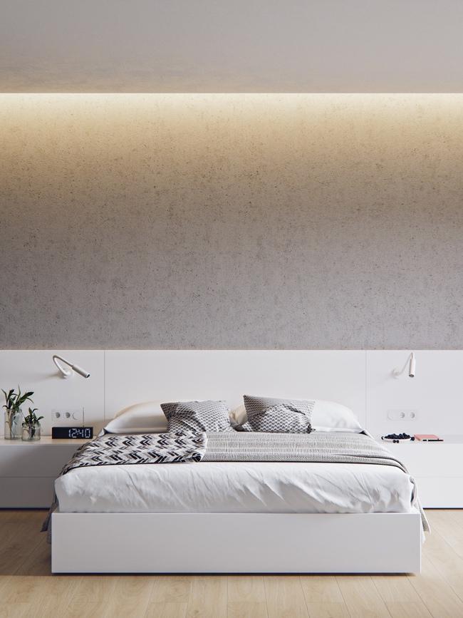 17 thiết kế phòng ngủ với gam màu trắng khiến bạn không thể không yêu - Ảnh 6.