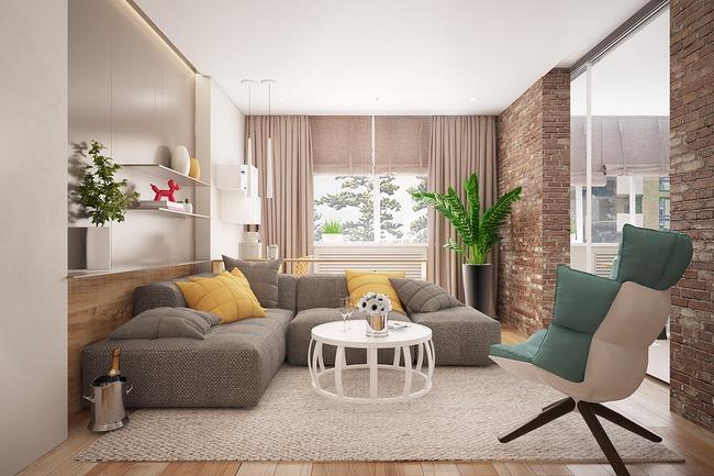 Những mẫu phòng khách đẹp lung linh thu hút mọi ánh nhìn - Ảnh 5.