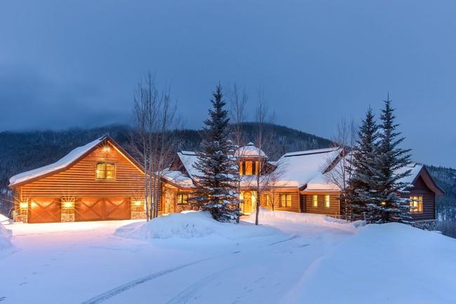 9 ngôi nhà có tuyết bao phủ đẹp như mùa đông ở xứ sở thần tiên - Ảnh 6.