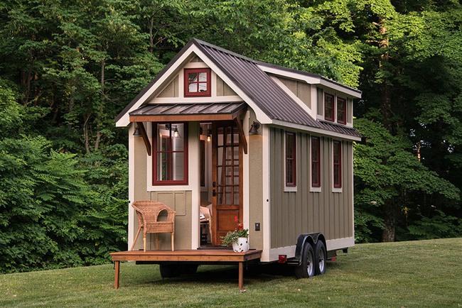 9 mẫu nhà nhỏ xinh đẹp phổ biến nhất thế giới - Ảnh 6.