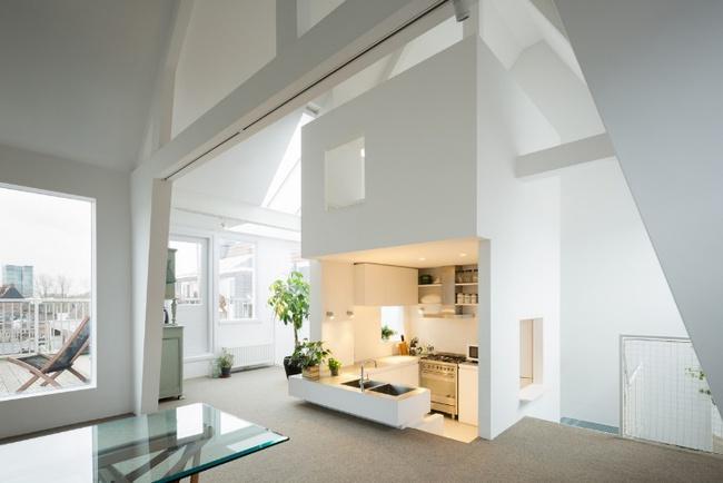 15 căn bếp hiện đại với sắc trắng tinh tế và vô cùng bắt mắt - Ảnh 6.