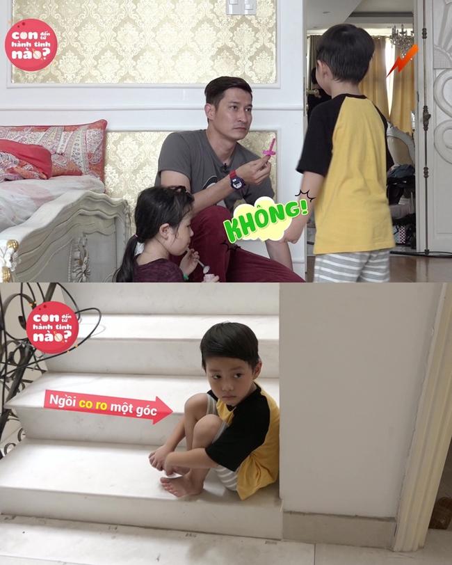 Gia đình Đăng Khôi, Huy Khánh mệt bở hơi tai khi lần đầu cho các nhóc tì gặp nhau - Ảnh 6.