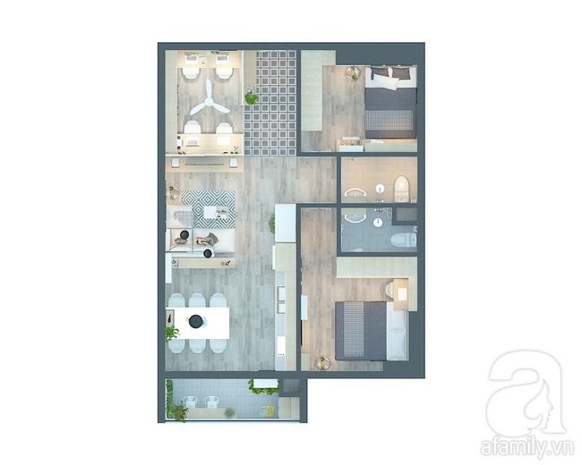 Tư vấn thiết kế 3 mẫu phòng khách giá rẻ dưới 15 triệu vẫn đẹp hút hồn  - Ảnh 6.
