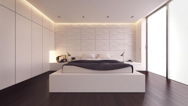17 thiết kế phòng ngủ với gam màu trắng khiến bạn không thể không yêu - Ảnh 7.