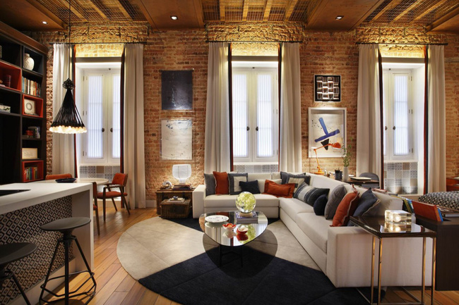 Những mẫu phòng khách đẹp lung linh thu hút mọi ánh nhìn - Ảnh 6.