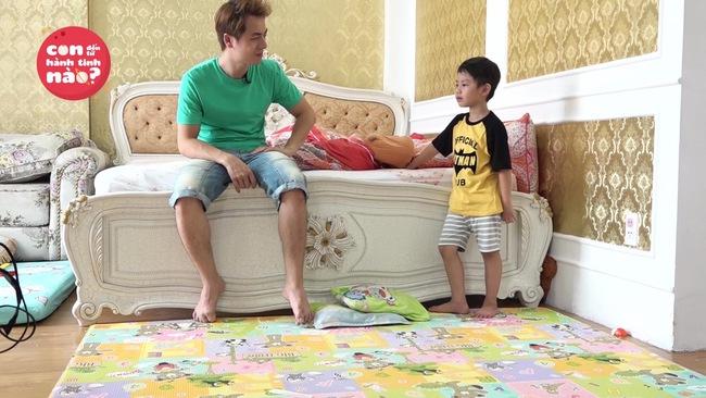 Gia đình Đăng Khôi, Huy Khánh mệt bở hơi tai khi lần đầu cho các nhóc tì gặp nhau - Ảnh 7.