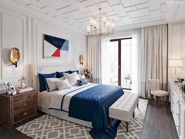 17 thiết kế phòng ngủ với gam màu trắng khiến bạn không thể không yêu - Ảnh 8.