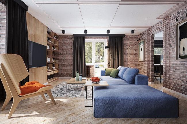 Những mẫu phòng khách đẹp lung linh thu hút mọi ánh nhìn - Ảnh 7.