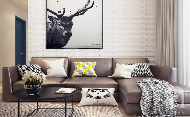 Tư vấn thiết kế 3 mẫu phòng khách giá rẻ dưới 15 triệu vẫn đẹp hút hồn - Ảnh 8.