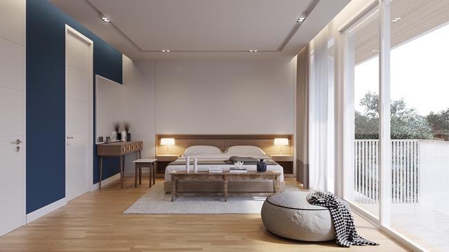 17 thiết kế phòng ngủ với gam màu trắng khiến bạn không thể không yêu - Ảnh 9.