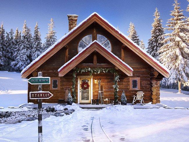 9 ngôi nhà có tuyết bao phủ đẹp như mùa đông ở xứ sở thần tiên - Ảnh 9.