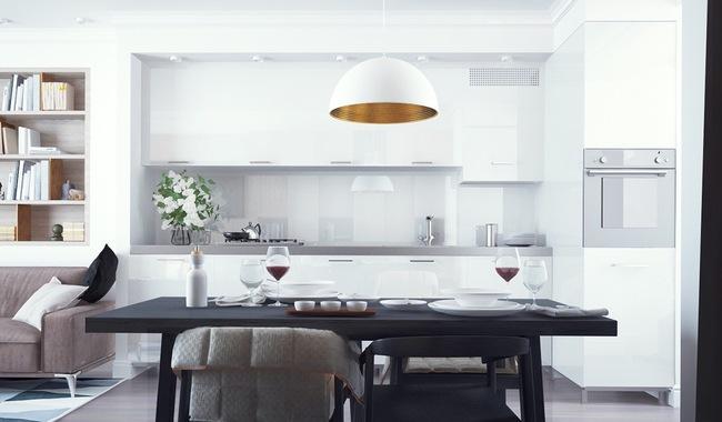 15 căn bếp hiện đại với sắc trắng tinh tế và vô cùng bắt mắt - Ảnh 9.