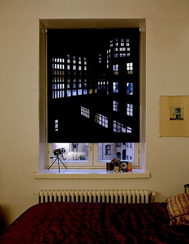 Rèm cửa đục lỗ - món phụ kiện cho bạn cảm giác như sống ở penthouse   - Ảnh 9.