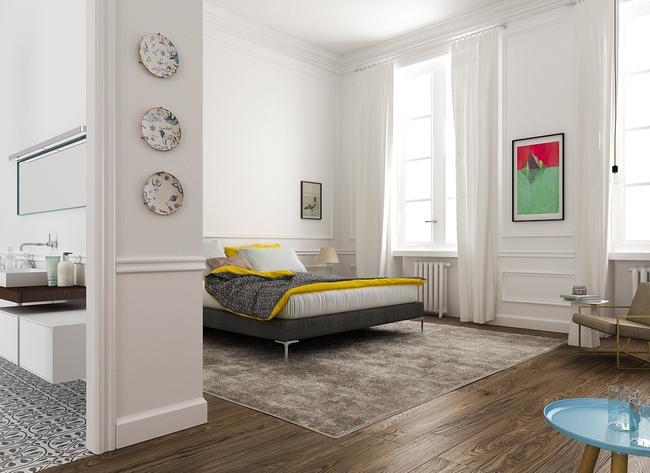 17 thiết kế phòng ngủ với gam màu trắng khiến bạn không thể không yêu - Ảnh 10.