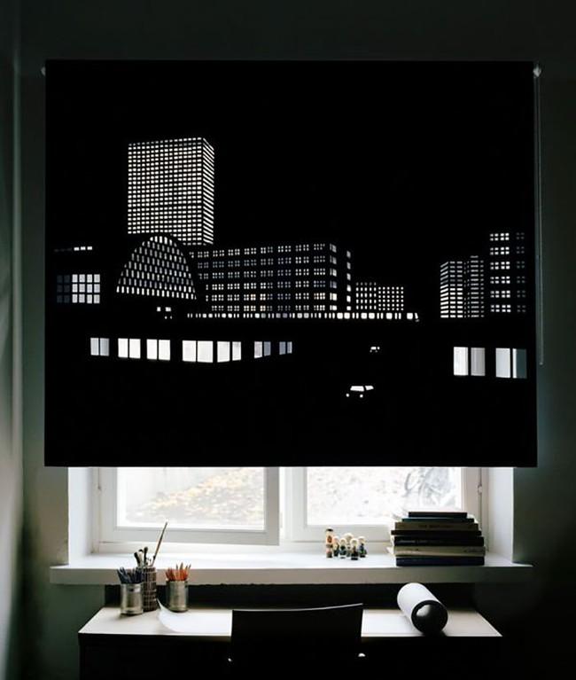 Rèm cửa đục lỗ - món phụ kiện cho bạn cảm giác như sống ở penthouse   - Ảnh 10.