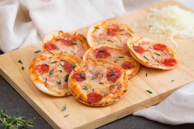 Pizza phiên bản nhí cho bữa sáng ngon mê ly - Ảnh 6.