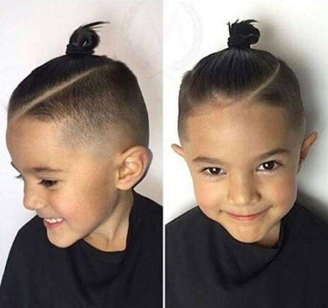 Tuyển tập những kiểu tóc đẹp cho bé trai giúp các mẹ thỏa thích biến con mình thành soái ca - Ảnh 19.