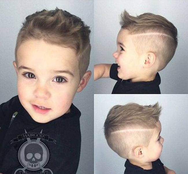 Tuyển tập những kiểu tóc đẹp cho bé trai giúp các mẹ thỏa thích biến con mình thành soái ca - Ảnh 20.