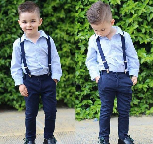 Tuyển tập những kiểu tóc đẹp cho bé trai giúp các mẹ thỏa thích biến con mình thành soái ca - Ảnh 12.
