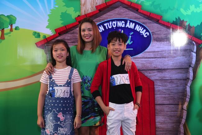 Hoàng Oanh, Ngọc Khuê điên đảo vì dàn thí sinh Idol Kids siêu đáng yêu - Ảnh 14.