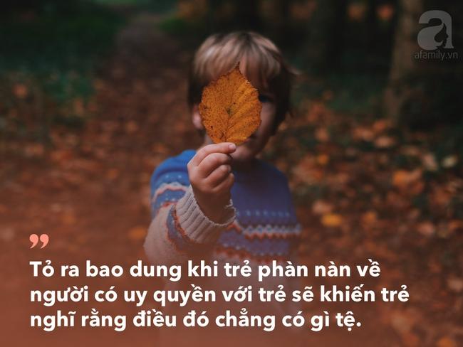 Cha mẹ đang làm hư con bởi cách cư xử tưởng rất khôn ngoan này - Ảnh 2.