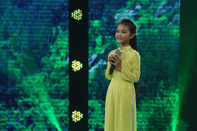 Đây là bé 13 tuổi vừa xinh, vừa hát dân ca hay như NSND Thu Hiền - Ảnh 4.
