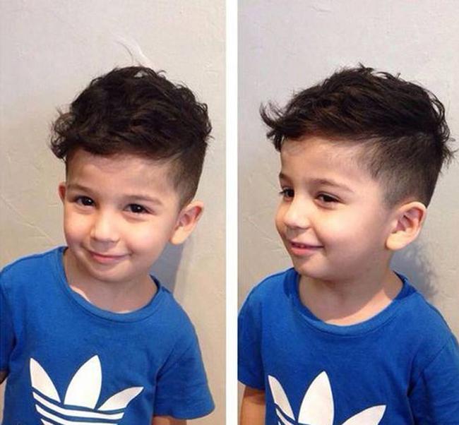 Tuyển tập những kiểu tóc đẹp cho bé trai giúp các mẹ thỏa thích biến con mình thành soái ca - Ảnh 15.