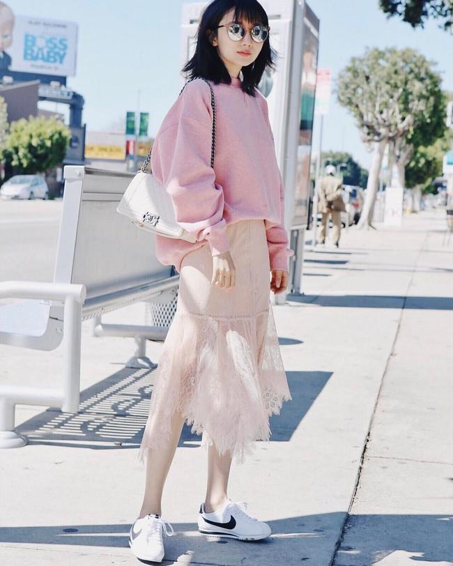 Street style các quý cô châu Á: Vừa điệu đà vừa sexy hết nấc! - Ảnh 6.