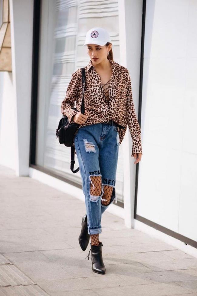 Điểm mặt 4 kiểu quần jeans đang được kiều nữ Việt kết nhất - Ảnh 10.