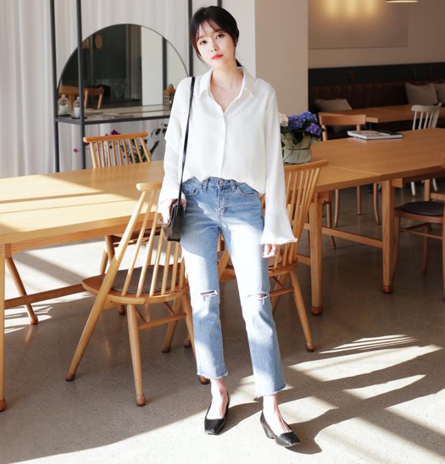 Điểm qua một vài cách diện đồ hay ho với cặp đôi kinh điển: quần jeans và sơmi - Ảnh 3.