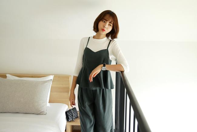Những cách mix đồ cho mùa mới bạn có thể ứng dụng ngay khi lượn lờ qua các shop đồ online của Hàn - Ảnh 10.