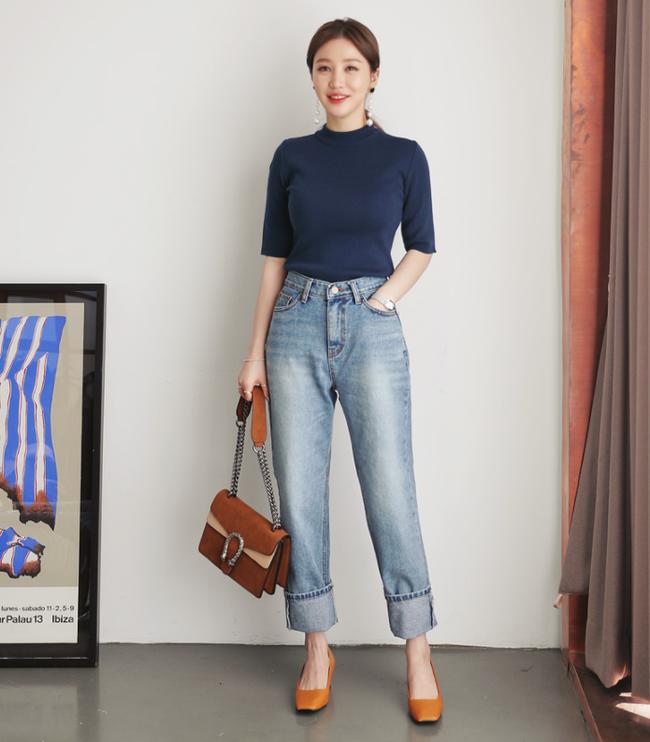 Diện quần dài vào mủa nắng nóng sẽ không còn là nỗi ám ảnh nhờ những mẫu quần jeans, quần vải này - Ảnh 13.
