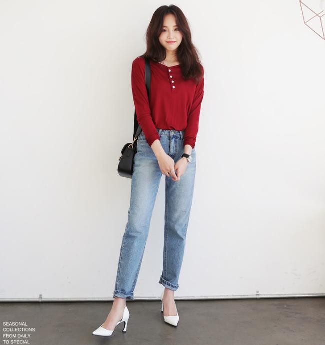 Diện quần dài vào mủa nắng nóng sẽ không còn là nỗi ám ảnh nhờ những mẫu quần jeans, quần vải này - Ảnh 14.