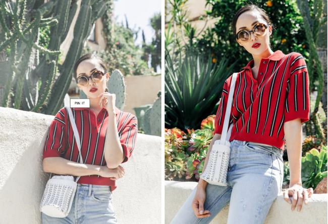 Street style quý cô châu Á: Diện đơn giản mà chất thế này thì nàng nào cũng muốn bắt chước theo - Ảnh 2.