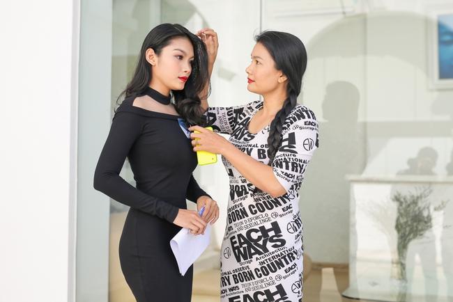Nữ diễn viên đóng nhiều cảnh nóng nhất VN đưa con gái đi casting The Face - Ảnh 7.